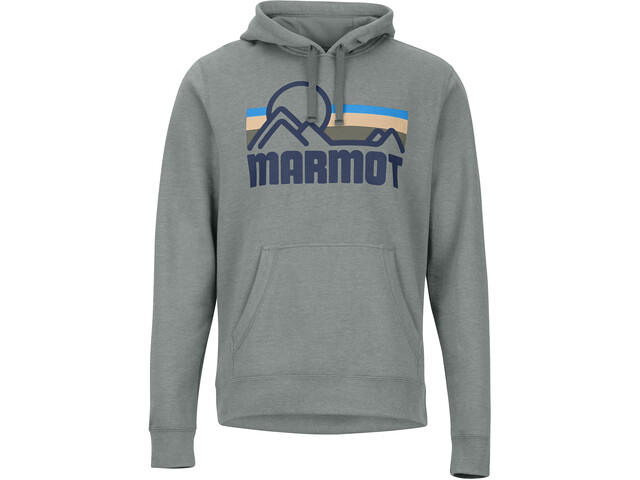 Marmot Coastal Hættetrøje Herrer, grå